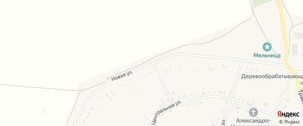 Новая улица на карте села Енгалышево с номерами домов