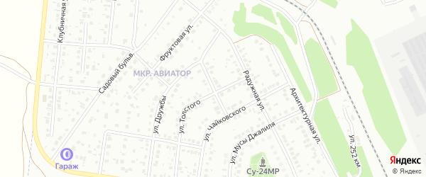 Улица Сайфи Кудаша на карте Кумертау с номерами домов