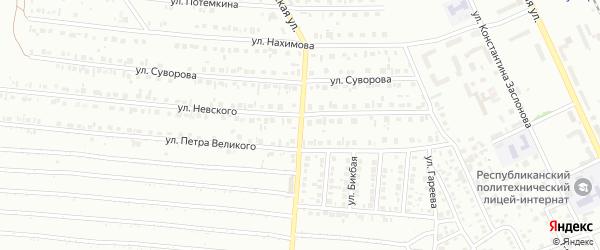 Шахтерская улица на карте Кумертау с номерами домов
