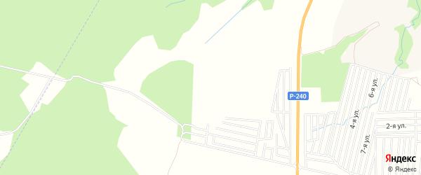 СНТ Липка на карте Уфимского района с номерами домов