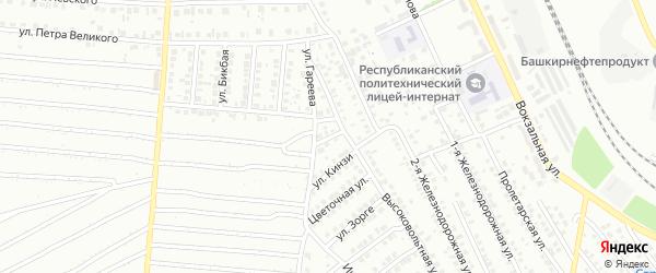 Улица Агидель на карте Кумертау с номерами домов