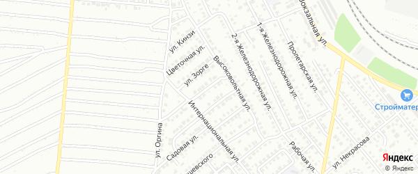 Российская улица на карте Кумертау с номерами домов