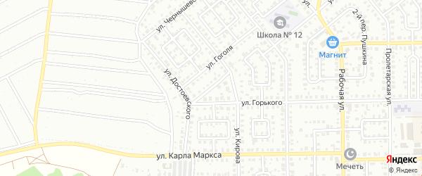 Переулок Кирова на карте Кумертау с номерами домов