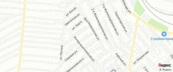 Улица Альмухаметова на карте Кумертау с номерами домов