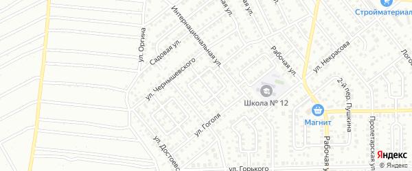 Переулок Гоголя на карте Кумертау с номерами домов