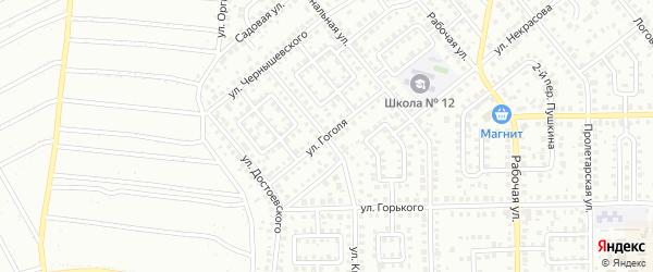 Улица Гоголя на карте Кумертау с номерами домов
