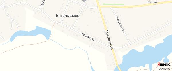 Речная улица на карте села Енгалышево с номерами домов