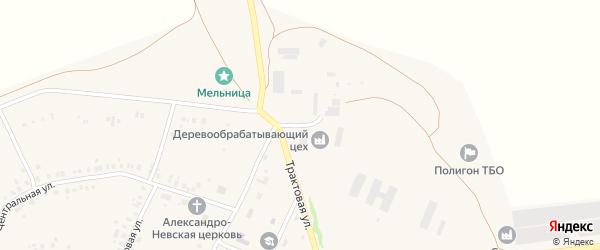 Промышленная улица на карте села Енгалышево с номерами домов