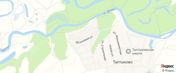 СНТ Зеленый мыс на карте Уфимского района с номерами домов