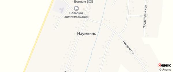 Улица Г.Васильева на карте деревни Наумкино с номерами домов