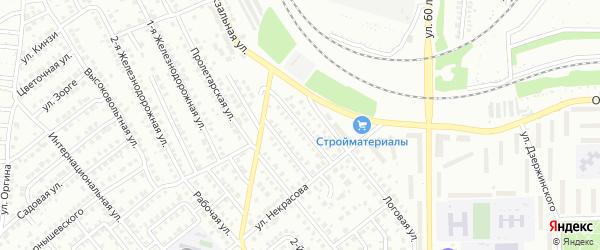 Геофизическая улица на карте Кумертау с номерами домов