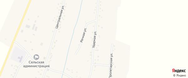 Ударная улица на карте деревни Наумкино с номерами домов