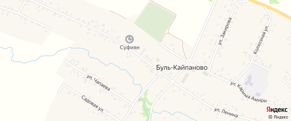 Улица Ленина на карте села Буль-Кайпаново с номерами домов