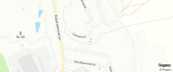 Западная 2-я улица на карте Кумертау с номерами домов