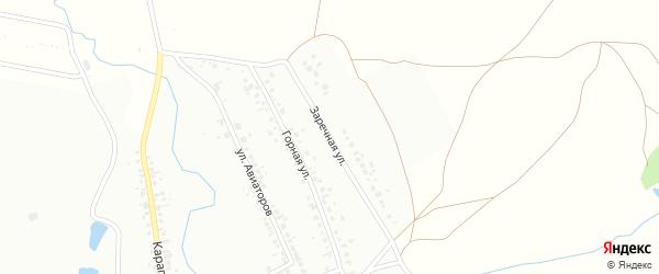 Заречная улица на карте Кумертау с номерами домов
