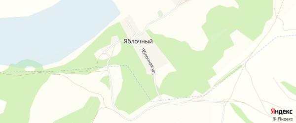 Карта деревни Яблочного в Башкортостане с улицами и номерами домов