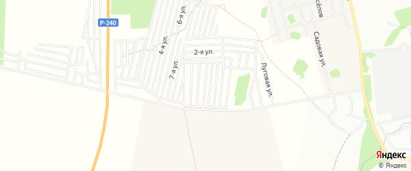 СНТ Медтехника на карте Уфимского района с номерами домов