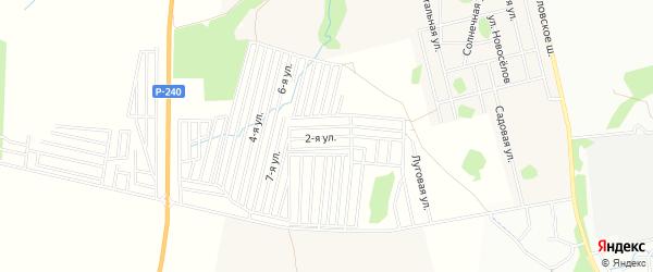 СНТ N33 Ромашка на карте Уфы с номерами домов