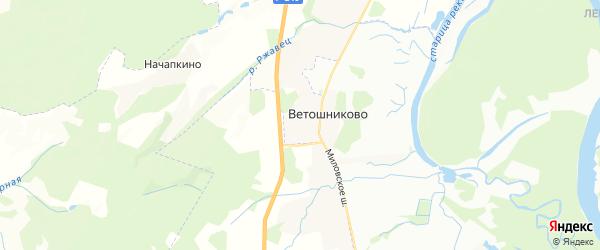 Карта Миловского сельсовета республики Башкортостан с районами, улицами и номерами домов