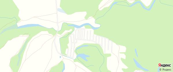 СНТ Огонек на карте Уфимского района с номерами домов