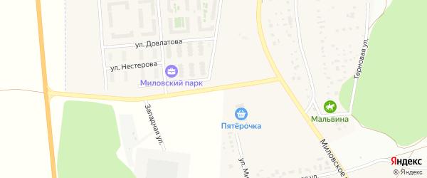 Улица Нестерова на карте Уфы с номерами домов