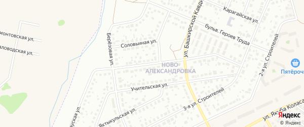 Янгантауская улица на карте Уфы с номерами домов