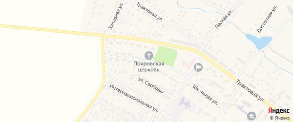Парковая улица на карте села Дмитриевки с номерами домов