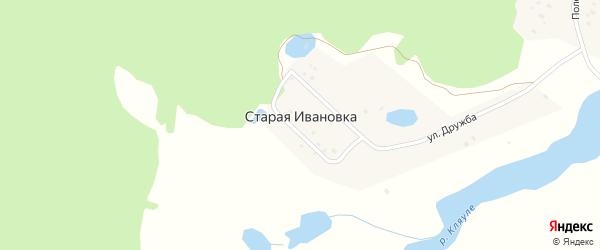Соловьиная улица на карте деревни Старой Ивановки с номерами домов