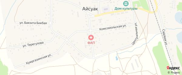 Улица Недошивина на карте села Айсуак с номерами домов