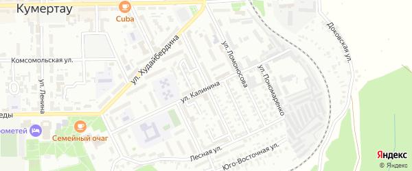 Первомайская улица на карте Кумертау с номерами домов