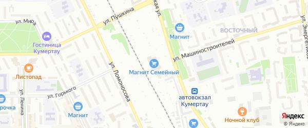 Массив 3 Бабаевская улица на карте Кумертау с номерами домов