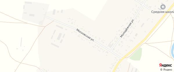 Московская улица на карте села Айгулево с номерами домов
