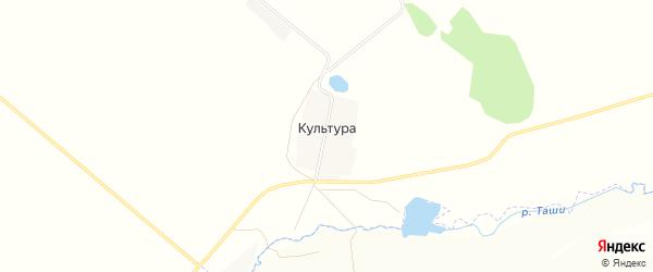 Карта деревни Культуры в Башкортостане с улицами и номерами домов