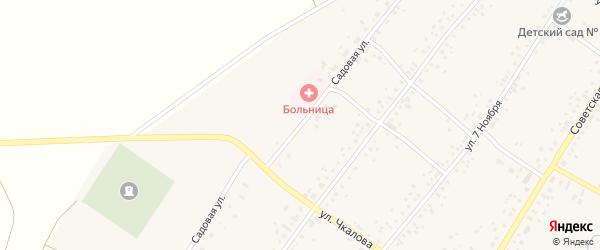 Садовая улица на карте села Бузовьязы с номерами домов