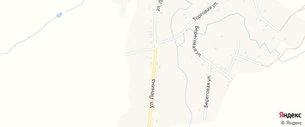 Улица Ленина на карте деревни Большие Шады с номерами домов