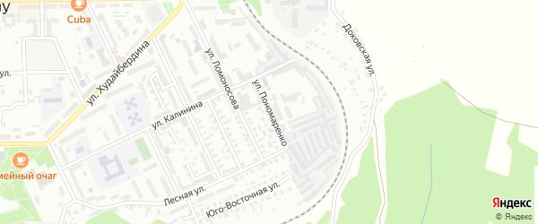 Улица Пономаренко на карте Кумертау с номерами домов