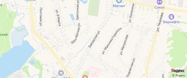 Заводская улица на карте села Ермолаево с номерами домов