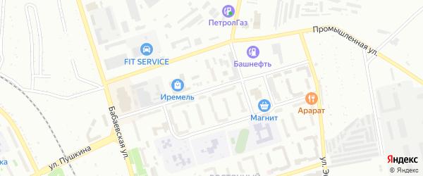 Куюргазинская улица на карте Кумертау с номерами домов
