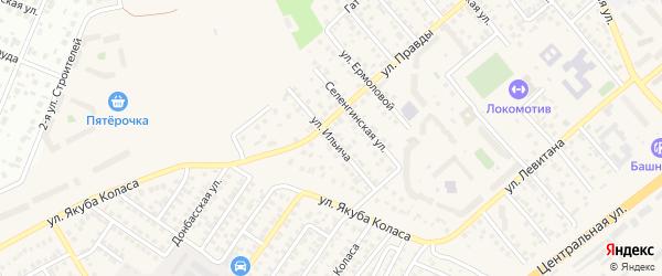 Улица Ильича на карте Уфы с номерами домов