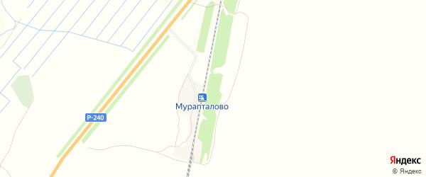 Карта деревни Мураптала в Башкортостане с улицами и номерами домов