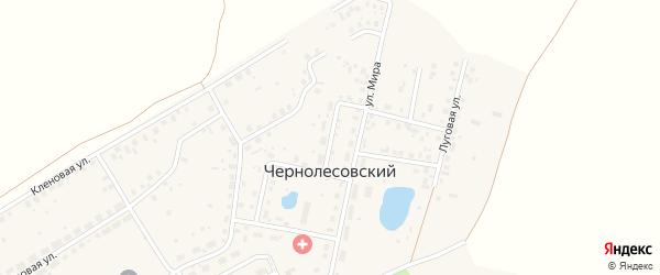 Рябиновый переулок на карте Уфы с номерами домов