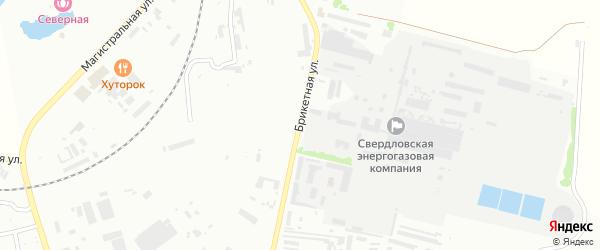 Брикетная улица на карте Кумертау с номерами домов