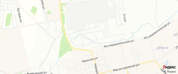 СНТ Дим на карте Иглинского района с номерами домов