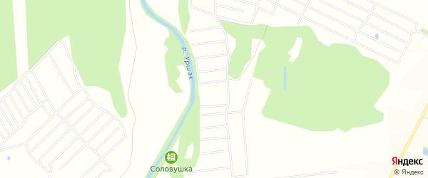 СНТ Соловьевка на карте Кармаскалинского района с номерами домов