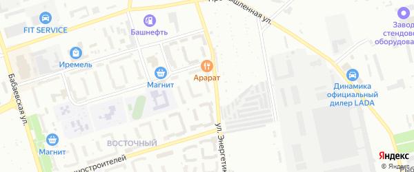 Улица Массив 23 Энергетиков на карте Кумертау с номерами домов