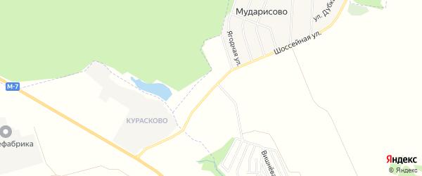 Карта промышленной зоны Курасково в Башкортостане с улицами и номерами домов