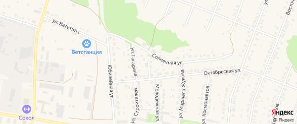 Улица Гагарина на карте села Ермолаево с номерами домов