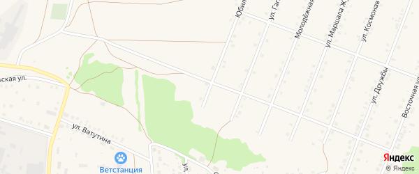 Юбилейная улица на карте села Ермолаево с номерами домов