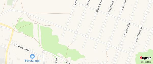 Улица Строителей на карте села Ермолаево с номерами домов