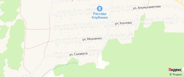 Улица Мохненко на карте села Ермолаево с номерами домов